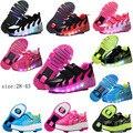 Novo 2017 criança levou luz roller skate shoes para crianças caçoa júnior meninas meninos tênis