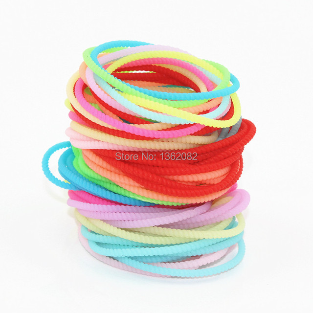 rainbow pcs gogo silicon silicone rubber bracelets dp bands pride favors wristbands party