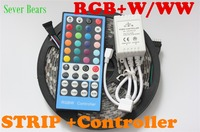 5M RGBW 5050 LED Strip Light 40key 5 Pin Remote Controller Waterproof IP65 DC12V SMD 60Leds