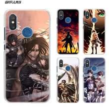 Жесткий пластиковый Чехол Attack on Titan для Xiao mi Red mi Note 7 Go 6 6A Pro S2 5 Plus 4X mi Play 8 lite A2 A1(China)