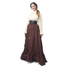 af7b6b4662e9b Buy pirate gown and get free shipping on AliExpress.com