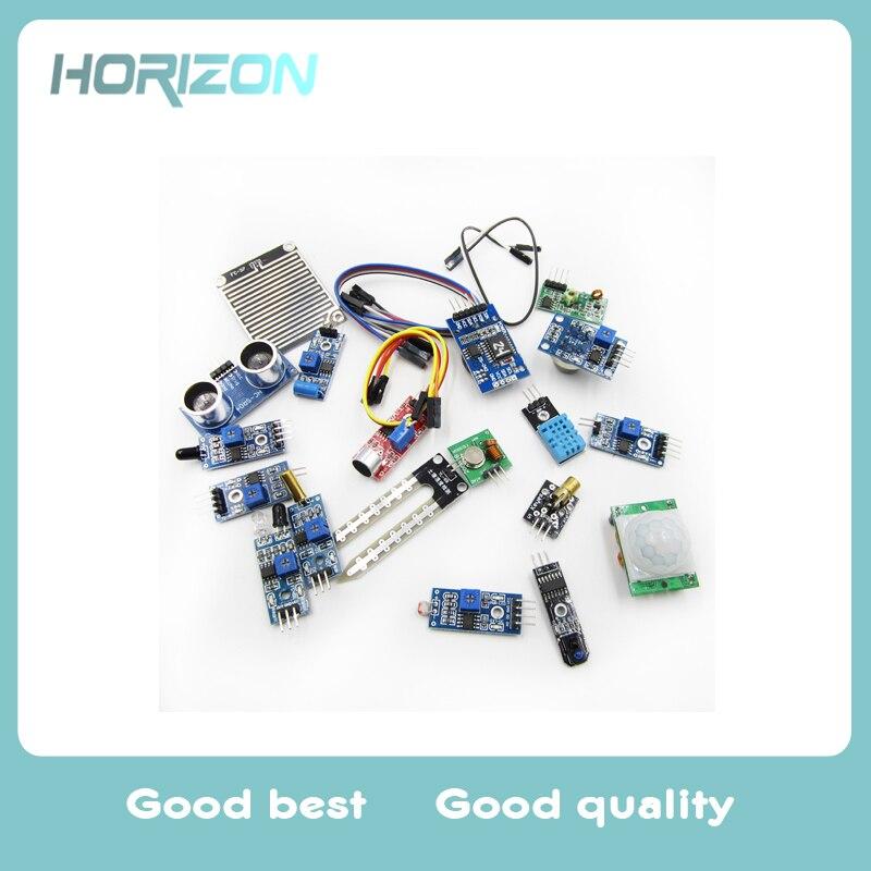Smart Home 16 In 1 Sensor Modules Project Starter Kits For Arduino Raspberry Pi 2 3