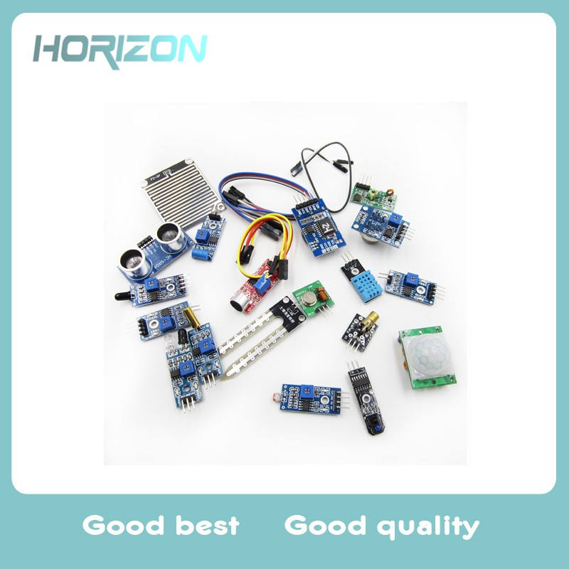 US $9 06 |Smart Home 16 in 1 Sensor Modules Project Starter Kits for  Arduino Raspberry Pi 2 3-in Home Automation Modules from Consumer  Electronics on