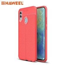 HAWEEL Phone Case for Huawei Honor 10 Lite/ P Smart 2019 Litchi Texture TPU Shockproof