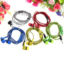 3.5mm With Microphone In-Ear Earphones Crack Braided Headset For iPhone For Samsung jul14