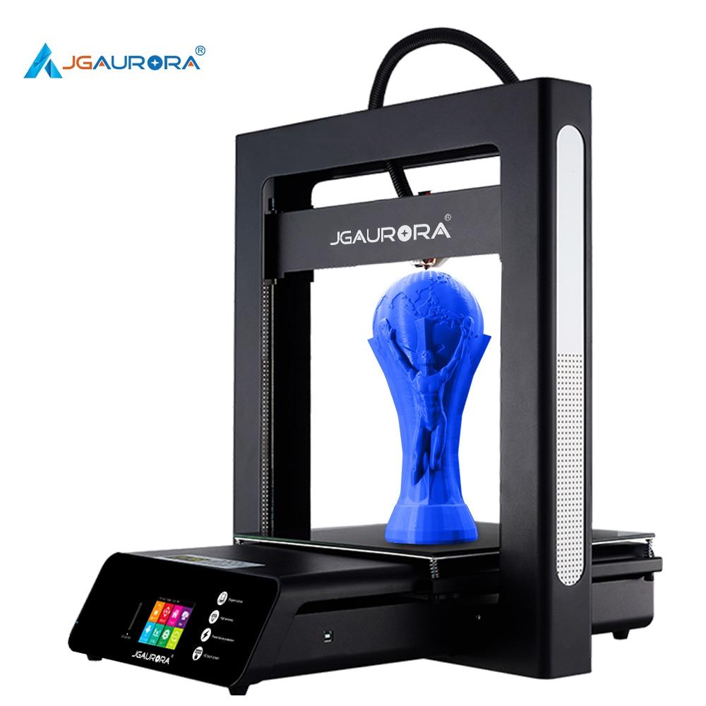 JGAURORA 3d Imprimante A5S Grande Taille D'impression 305X305X320mm Reprendre Imprimer 2.8 ''HD Écran Tactile avec Plaque de Construction Chauffée