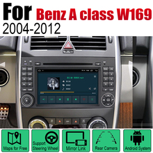 Car DVD Player For Mercedes Benz A class W169 2004~2012 NTG IPS LCD Screen GPS Navigation Android System Radio Audio Video Ster