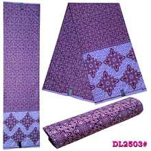 African national styrofoam polyester embossed batik fabric 6yadrs