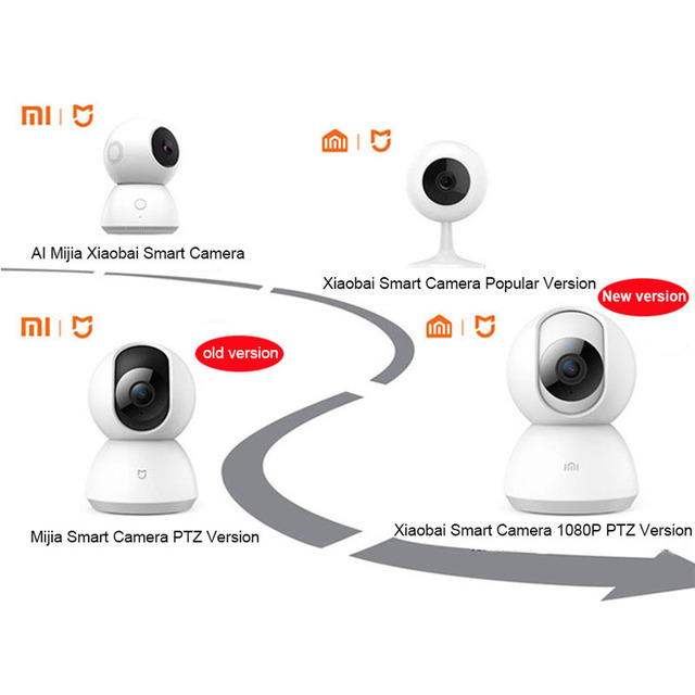 Updated Version 2019 Xiaomi Mijia Smart Camera Webcam 1080P WiFi Pan-tilt Night Vision 360 Angle Video Camera View Baby Monitor 2