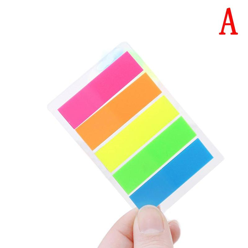 Candy Colors 1pc Colorful Sticker Memo Notes Sticky Notes Post Stickers Paper Stationery Zakka Material Escolar School Supplies
