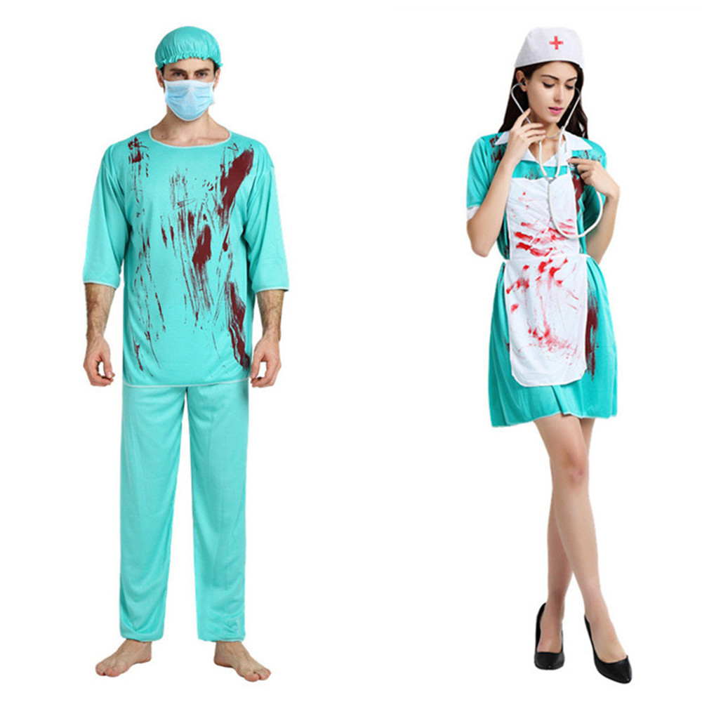74a82c4fa99c8 Buy doctor and nurse costume adult and get free shipping on AliExpress.com