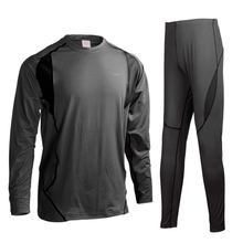 Men Thermal Underwear Men Long Johns Men Quick Dry POLARTEC Cycling Base Layers For Ski Riding
