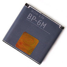 Original BP-6M BP6M Li-ion Battery For Nokia N73 N77 N93 N93S 3250 6151 6233 6234 6280 6288 6290 9300I 9300 BP 6M недорого
