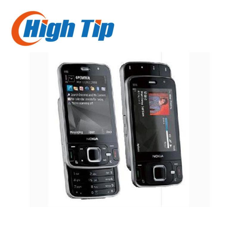 Цена за 100% разблокирована оригинальный nokia марка n96 телефон gsm 3 г 16 ГБ встроенной памяти, wifi, gps, 5 мп, 1 год гарантия восстановленное бесплатная доставка