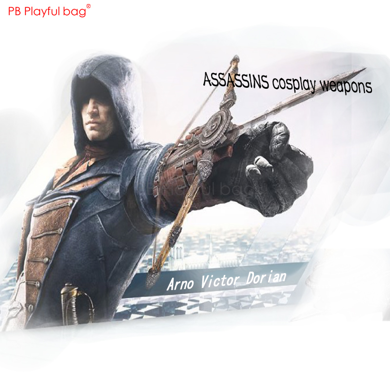 Assassin5 Cosplay Sleeve sword PVC collectible model Toys Creative Assassin Cosplay weapon Childrens Gifts Game collection HB87Assassin5 Cosplay Sleeve sword PVC collectible model Toys Creative Assassin Cosplay weapon Childrens Gifts Game collection HB87