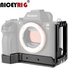 NICEYRIG dslr plate forme stabilisateur de caméra pour SONY A7MIII A7RIII A9 A7MII A7SII A7RII pince trépied stabilisateur caméra accessoires Photo