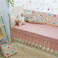 5 шт. цветные облака pattern бампер Детская Кроватка Бампер Дети детские кроватки постельных принадлежностей хлопка мальчик девочка постельных принадлежностей кровать детская кроватка протектор