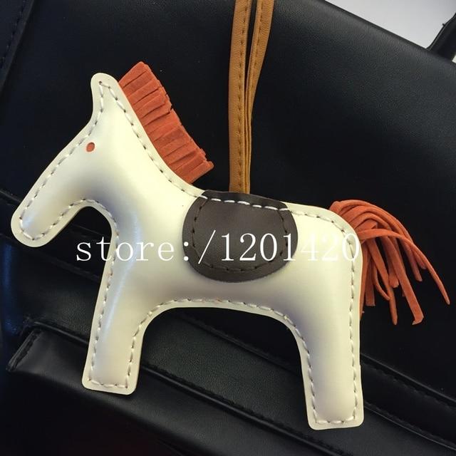 Fashion Horse Bag Charms HandBag Bugs Tote Shoulder Bag Key Chain Handmade Girl Gift Lady Bag Pendant  Woman Accesories