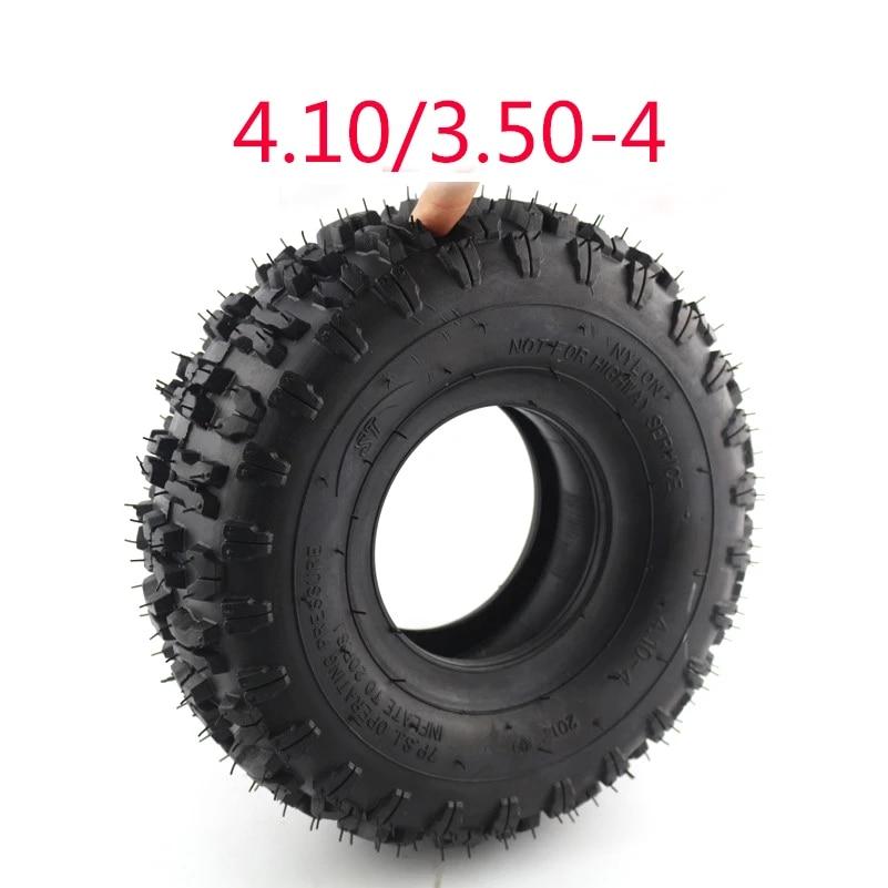 TOOGOO 4.10//3.50-4 410//350-4 ATV Quad Go Kart 47Cc 49Cc Chunky 4.10-4 Tubo Interior del Neum/áTico Apto para Todos los Modelos 3.50-4 Tubo Interior del Neum/áTico de 4 Pulgadas