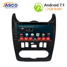 Android 7.1 Car dvd Stereo Player GPS Glonass Navigation multimedia for Renault Duster/Logan/Sandero headunit Auto Radio Video