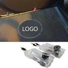 Led welcome Emblem Ghost Shadow LOGO light for Mercedes-Benz R ML GL W215 W164 X164 LED courtesy light car logo NO DRILL