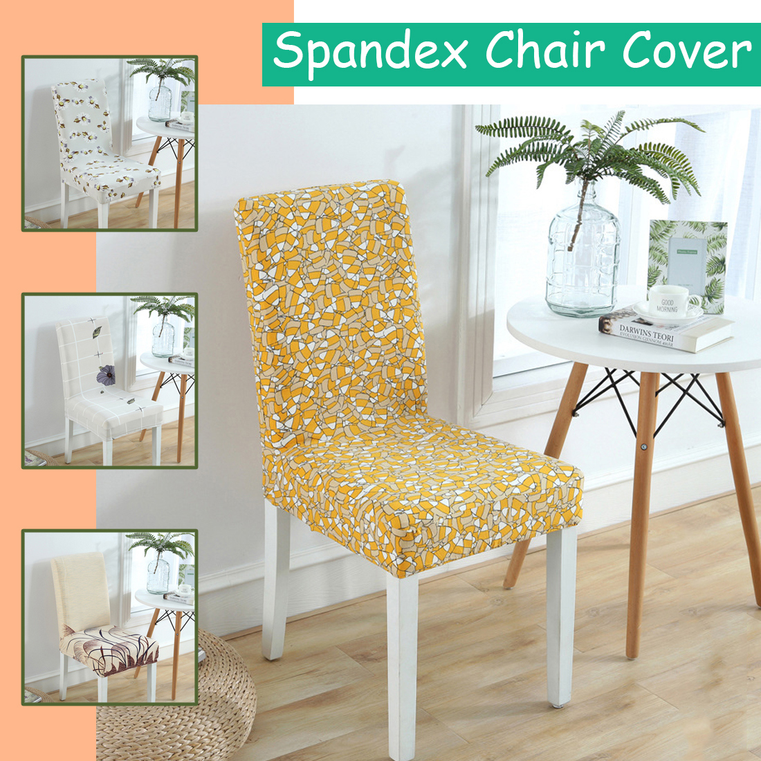 dining chair covers aliexpress how to recover room chairs decor cover universal removable stretch