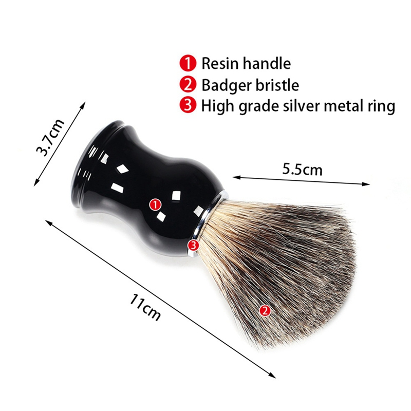 Synthetic Hair Hand-crafted Shaving Brush For Shave Barber Tool Brush Manufacturers