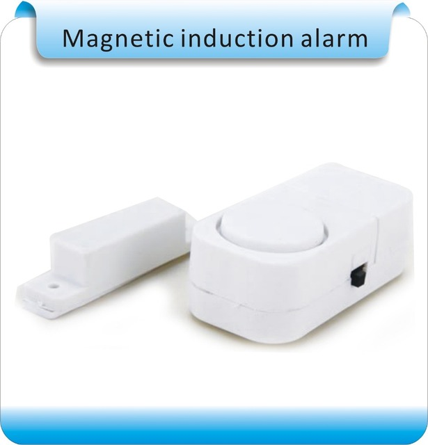Free shipping 10pcs Magnetic induction Home Office Doors Windows Security Entry Burglar Contact Alarm System,Guardian Protector
