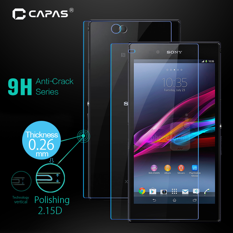 Bubble Free CUSKING Screen Protector Compatible with Sony Xperia Z3 Anti Fingerprint Tempered Glass Screen Protector for Sony Xperia Z3 4 Pack Ultra Thin