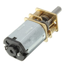 1 pc Durable N20 DC12V 300 RPM Mini Metal Motor eléctrico Motor de Motor caja de engranajes(China)