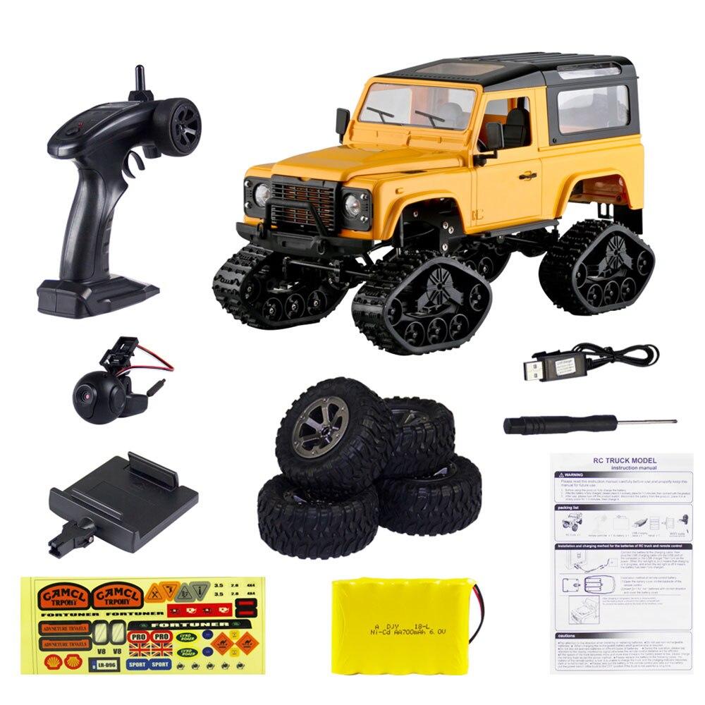 FPV 480P HD видео RC гоночная камера RC автомобиль дрейф видео в режиме реального времени Премиум 2,4 GHz внедорожный умный профессиональный видео RC автомобиль - Цвет: yellow