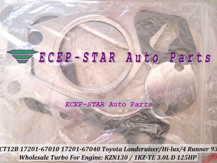 CT12B 17201-67040 17201 67040 1720167040 17201-67010 турбина для Toyota HILUX KZN130 LANDCRUISER PRADO 1KZ-TE 1kzte 4-RUNNER 3.0L