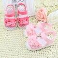Precioso del bebé sandalias de verano suela suave calza las sandalias 0 - 18 M