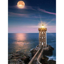 Popular lighthouses for sale buy cheap lighthouses for sale lots hot sale lighthouse needlework diy diamond picture set embroidery diy resinstone square diamond painting handcraft bk 3576 sciox Image collections