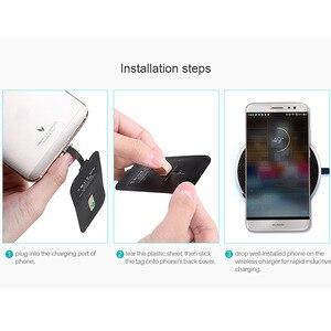 Image 5 - Nillkin Mini Qi شاحن لاسلكي + USB نوع C استقبال لاسلكي شحن ل شاومي Mi 6 8 9 SE لايت Poco F1 Redmi نوت 7 K20 برو