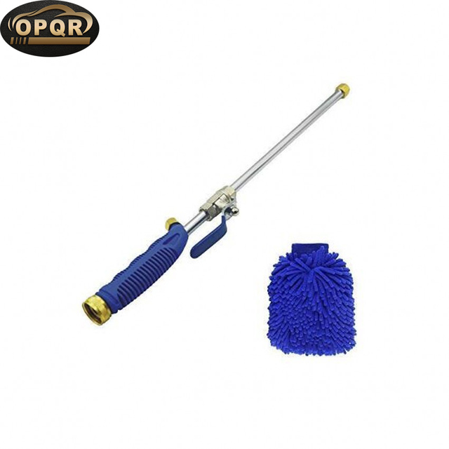 Magic High Pressure Wand Improved Power Washer Water Hose Nozzle Hydro Water Jet Glass Cleaner Cleaning Gloves