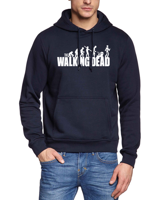 2017 the walking dead funny style sweatshirt men autumn Fitness Clothing male fleece harajuku hoodies fashion hip-hop tracksuits