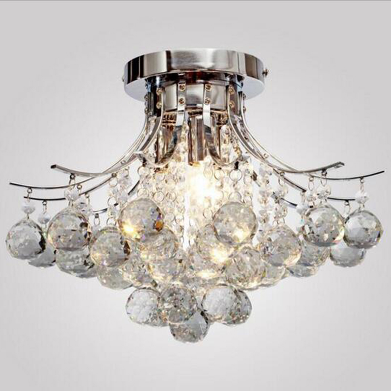 Ceiling Lights Jmmxiuz Luxurious Vanity Modern Chandelier Finishing Led Ceiling Lamp Crystal Chandelier Dining Table Lamp Dining Table Pleasant To The Palate Lights & Lighting