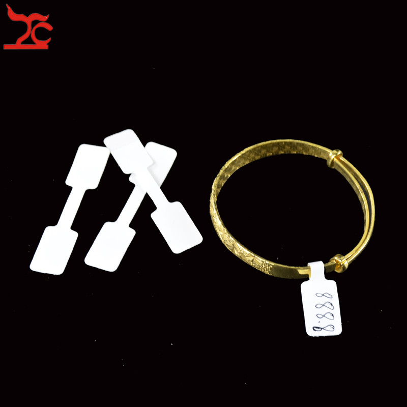 Card with String Jewellery Tags Display Label Ring Bracelet Necklace Blank