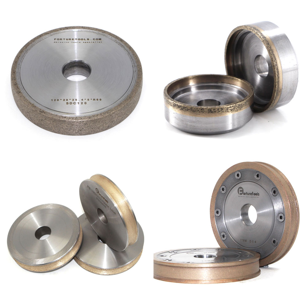 Customized Metal Bond Diamond CBN Abrasive Grinding Wheel Forturetools Manufactured Tools
