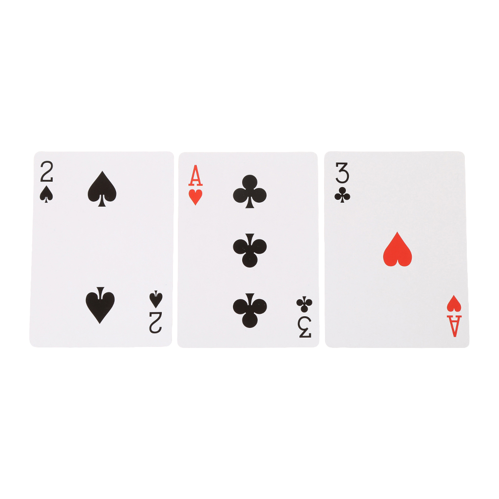 Magic Toy Three Card Monte Poke Trick Instant Change Card Easy To Play