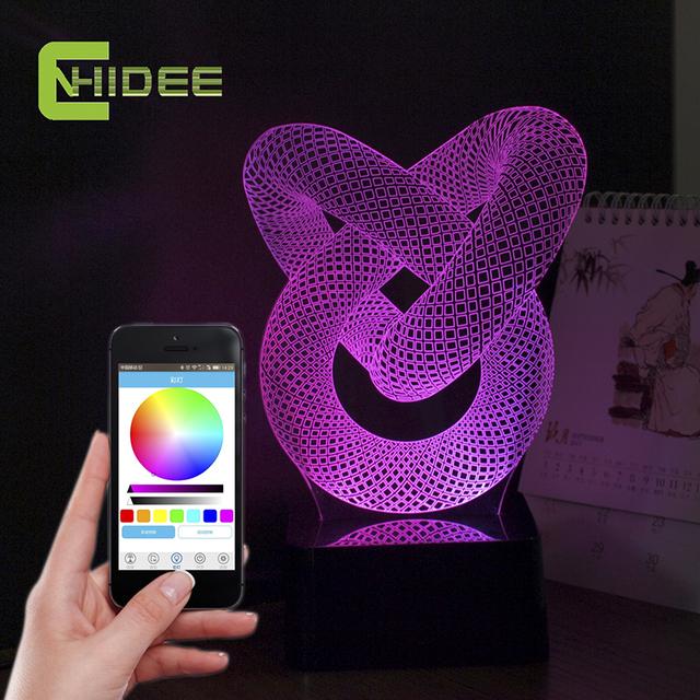 CNHIDEE USB Novedad Nudo Excéntrico, Además de Música Creativa Luz de La Noche 3D Nocturna Centellante Lámpara LED con el Altavoz Bluetooth
