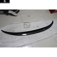 F33 4 series Convertible P style Carbon fiber Car Rear Spoiler Wings For BMW F33 428i 435i car styling 13 18