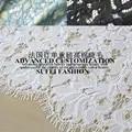 150*110 cm ciglio nero bianco giallo blu cotone poliestere abito da sera in pizzo camicetta tessuto S216