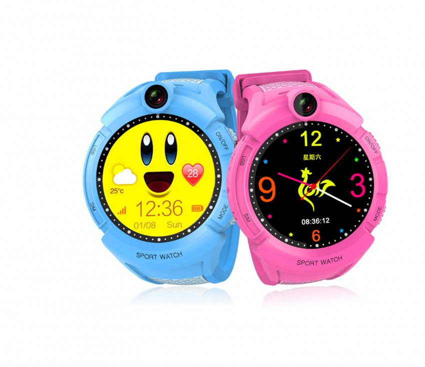 2017 New GPS tracking Watch for Kids Q610S baby watch LBS GPS Locator Tracker Anti Lost
