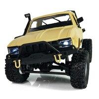 WPL C14 1:16 Scale 2.4G 2CH 4WD Mini Off road RC Semi truck RTR Kids Climb Truck