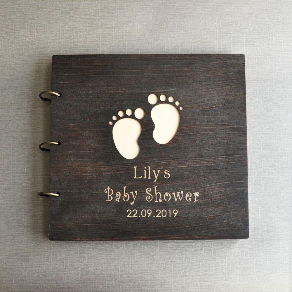 Personalized Baby Shower Photo Album,Boy Baptism,Birthday