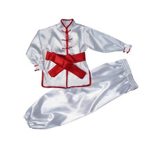 Traditional Wushu Costume Martial Arts Uniforms for Kids Taichi Clothing