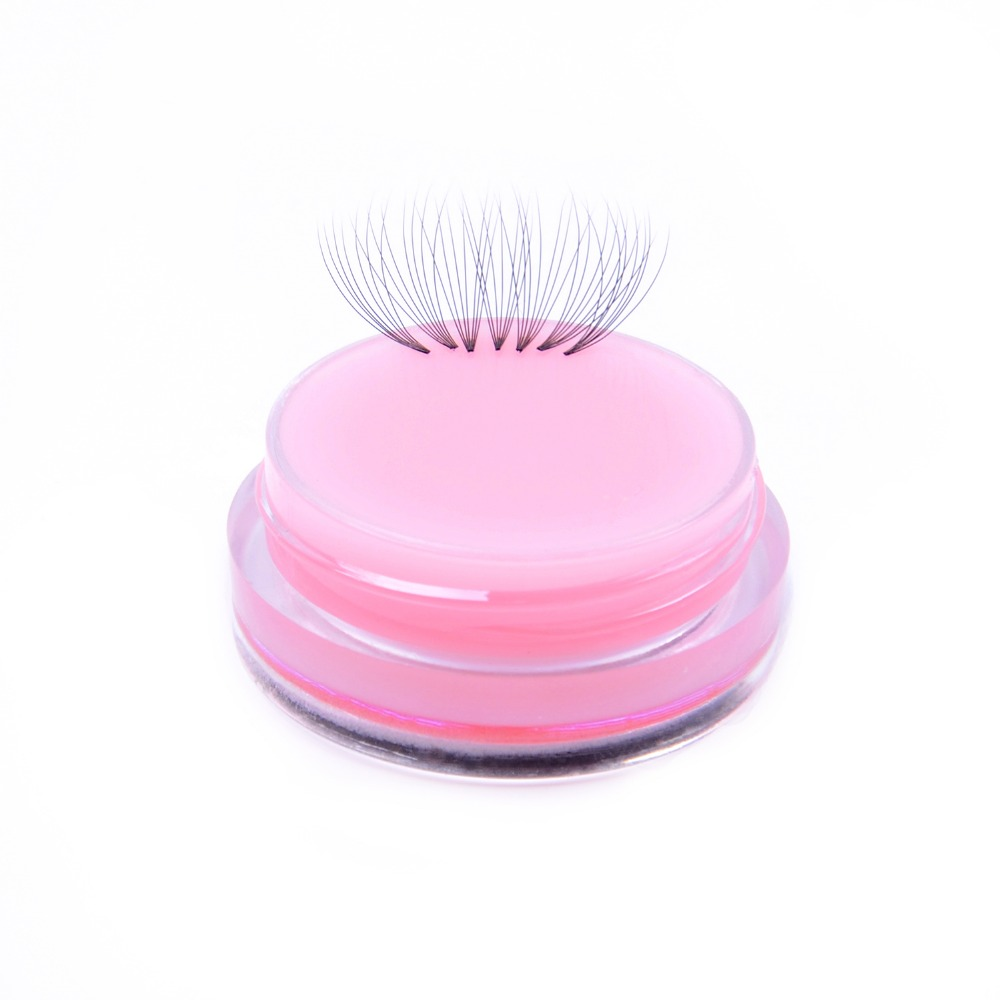 Image 4 - TDANCE Short Stem Premade fans Eyelashes 3d/4d/5d/6d/7d Russian Volume Extensions  Faux Mink Lash Extension make up tools  soft-in False Eyelashes from Beauty & Health