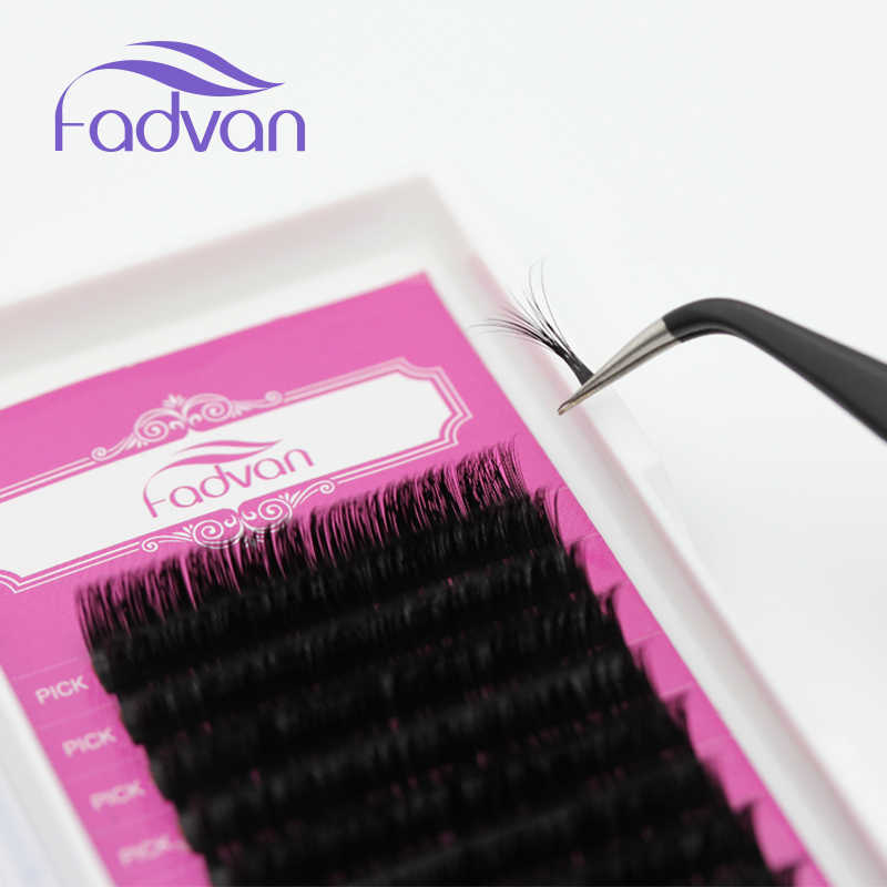 6aafc928377 ... Special Flare Lashes C DCurl 10 11 12mm Russian Volume Eyelash Extension  0.07mm Cilia Silk ...